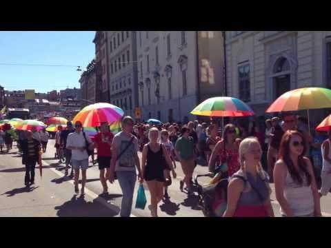 Arbetarrörelsens på Stockholmpride 2013