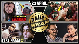 Deepika's Kiss Scene, Kangana Aamir Friends Again, Salman's Tere Naam 2 | Top 10 News