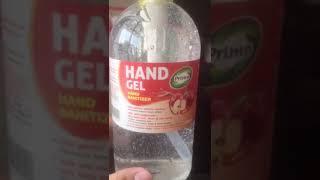 Hand gel sanitizer primo 1 liter ( 1000ml ) expired : 2023 - dengan alkohol 70 %. membunuh virus dan bakteri 99,9 perlindungan 3 jam dalam tetes han...