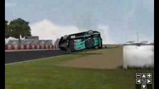 GTR 2 crash