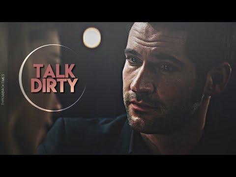 Lucifer Morningstar; talk dirty.