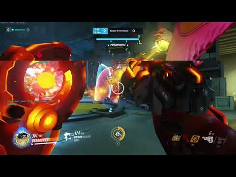 Overwatch XBOX ONE - Multiplayer Competitive Torbjorn On Attack On Route 66  -Season 19