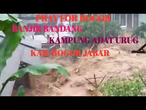 Seram, banjir di Citatah Padalarang
