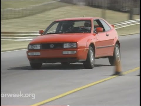 MotorWeek   Retro Review : '92 Volkswagen Corrado