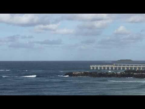 2x RAAF FA/18F Super Hornets Off Point...