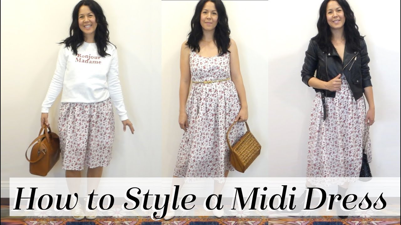 [VIDEO] - How to Style a Summer Midi Dress for All Seasons: 5 Outfit Ideas! & COUPON! Kait Bos 2