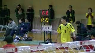 20180204九州高等学校ハンドボール選抜大会 男子 決勝 大分vs瓊浦(第2延長2/2)