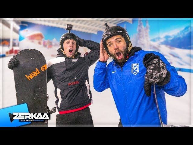 W2S Teaches Me How To Snowboard!