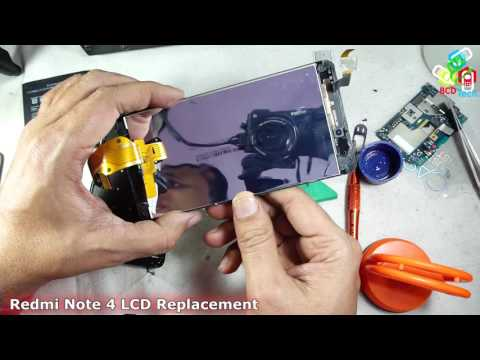 Xiaomi Redmi Note 4 LCD Repairing/Changing/Replacement