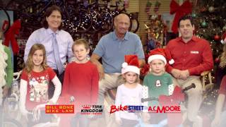 Bikes for Tykes & Bill Bone Holiday Bicycle Giveaway for Children