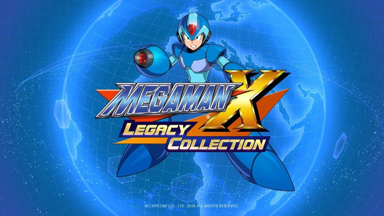 PS4《Mega Man X Legacy Collection》宣傳影像