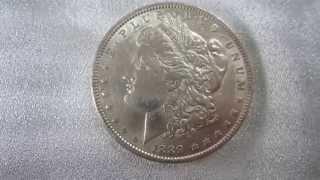 1889 P Morgan Silver Dollar 90% Silver