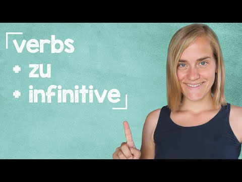 German Lesson (295) - Verbs + Infinitives without