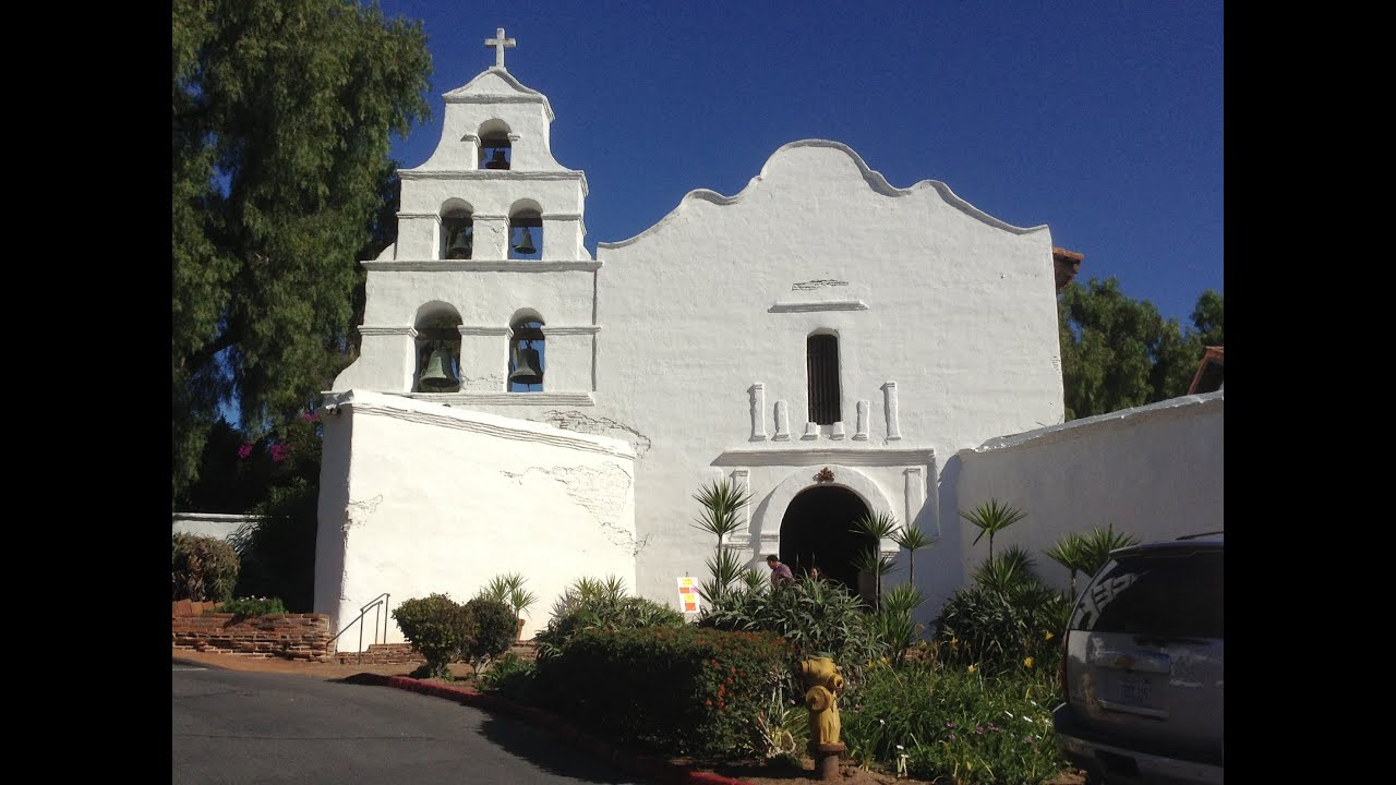 Delilah's Mission Project: Mission San Diego de Alcala` - YouTube