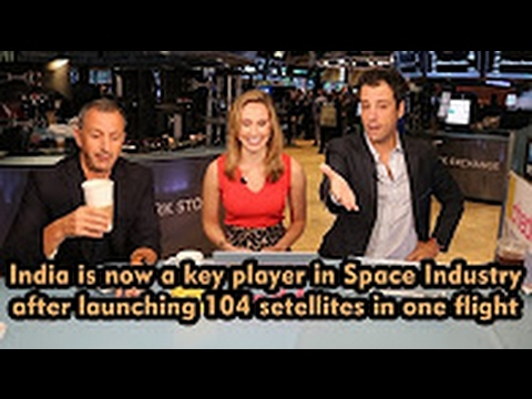 American Foreign Media discussion on India   ISRO world record of 104 satellites