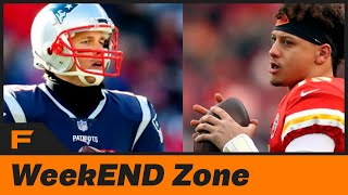 AFC:NFC NFL Championship Preview, Social Media Moments of the Week, & Fumble Fan Q&A | Weekend Zone