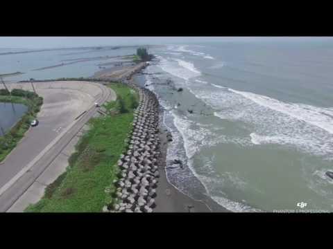 消失的海岸,消失的臺灣土地。