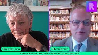 TechTalk con Eike Schmidt, direttore degli Uffizi: il futuro dell'arte e dei musei fra social e Nft