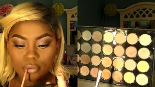 light smokey eyes   makeup tutorial bh cosmetics essential eye palette