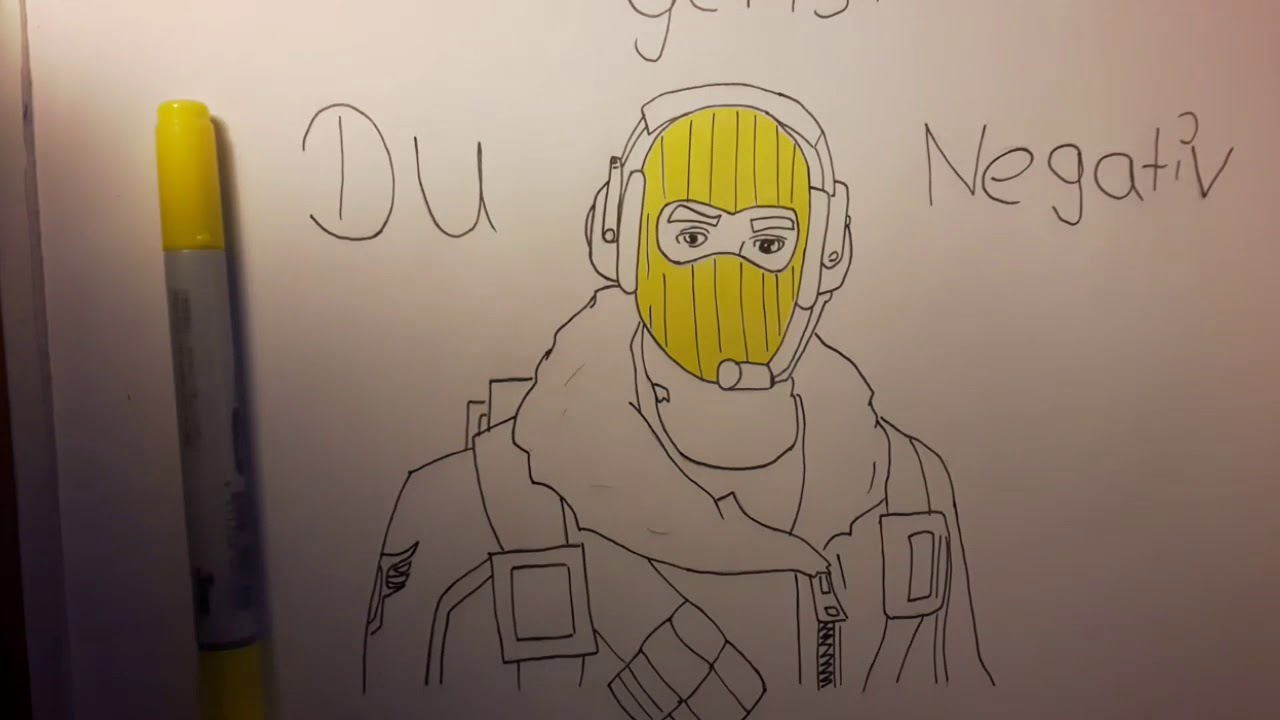 Drawing Fortnite Skin ( Raptor) Paix_lexo - YouTube