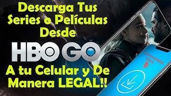 ?Tus Series o Películas de HBO en Tu Celular (DE MANERA LEGAL) 100% Efectivo⬇️??