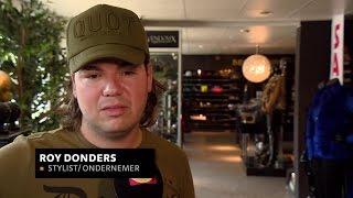 Roy Donders is inbraken spuugzat: