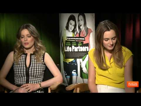 Life Partners Interview With Gillian Jacobs and Leighton Meester [HD]