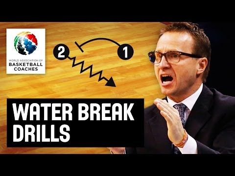 Water break drills - Scott Brooks - Basketball Fundamentals