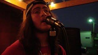 Ethan playing at Taco Loco