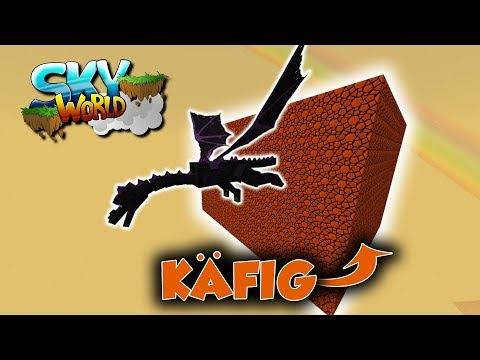 Ender Drache entkommt! Dragon Farm Fail! - #47 - Minecraft Sky World