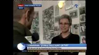 Caravana Stirilor in Bailesti unde Oana Pellea a acordat un interviu in exclusivitate la 30 de ani d