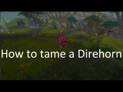 How to tame a Direhorn in Battle for Azeroth