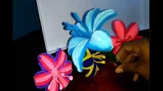 🌼  Como Hacer Una Flor Con Limpiapipas/pipe Cleaner Flowers