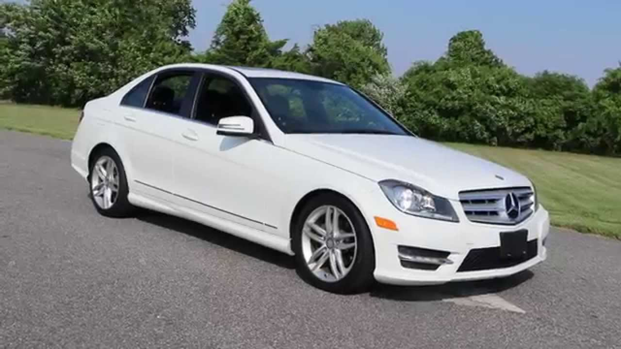 Marvelous 2012 Mercedes Benz C300 For Sale 4Matic Sport For Sale~Salvage Title    YouTube