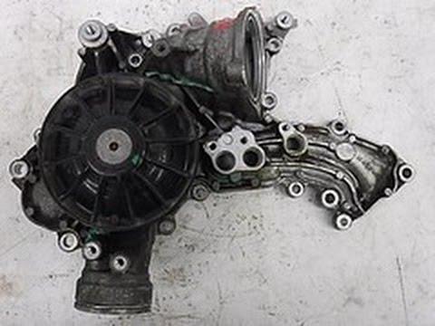 Mercedes W221 M273 5.5 V8, Замена помпы