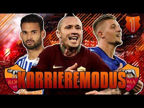 FIFA 18: DAS CHAMPIONS LEAGUE WUNDER VON ROM!!🔥😱 - AS Rom Karrieremodus #1