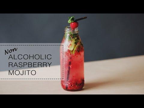 non-alcoholic-raspberry-mojito
