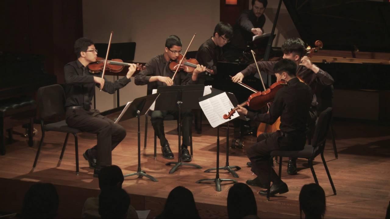 Elgar - Quintet in A minor for Piano, Two Violins, Viola, and Cello, Op. 84, Moderato-Allegro