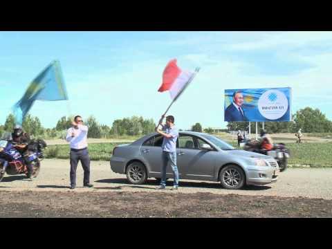 In moto fino in Kazakhstan - Arrivo ad Aksay
