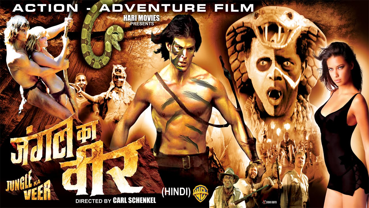jungle ka veer - full hollywood super dubbed hindi action film - hd