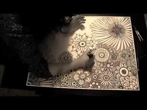 Coloriage Mandala Geant.Creation Mandala Geant Pour Enfant Coloriage
