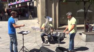 Flashmob Waltz n2 de shostakovich- Plaza Curros Enrriquez, P...