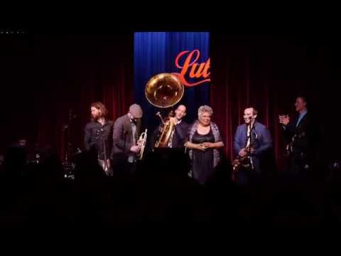 Heavyweights Brass Band Ft. Jackie Richardson and Kevin Breit - This City (Live at Lula Lounge)