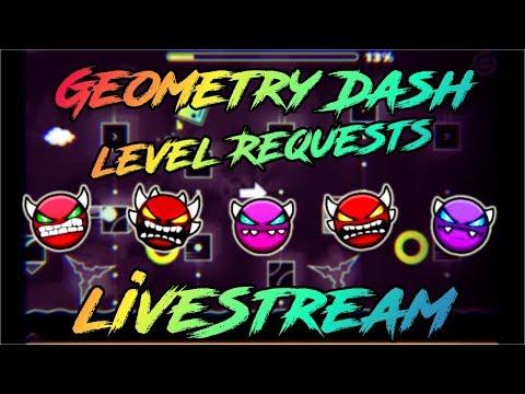 Geometry Dash 2.1  PC   Level Request   Stream #6