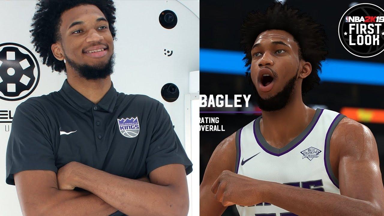 NBA 2K19 Marvin Bagley III Screenshot and Rating!