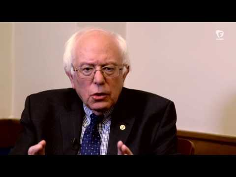 Sen. Bernie Sanders Speaks Out for Labor Unions