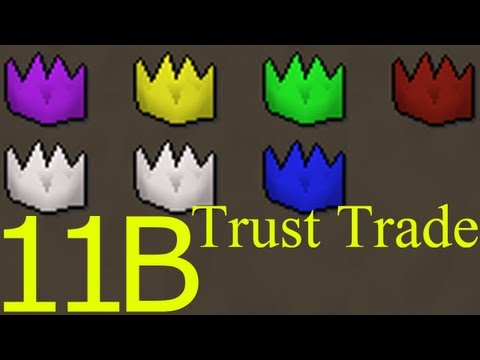 PartyHat Set Trust Trade + Do we Deserve Free Trade in Runescape?