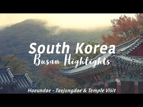 BUSAN, SOUTH KOREA - Travel