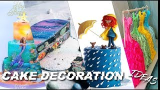 THE BEST CHOCOLATE CAKE VIDEO IN THE WORLD | BEST CHOCOLATE CAKE DECORATION OF 2018