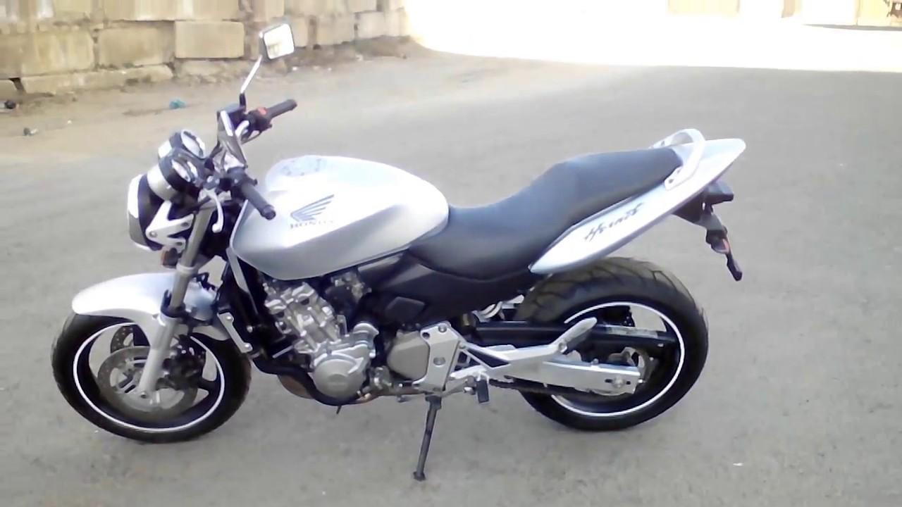 honda cb600f hornet 2003 grey youtube. Black Bedroom Furniture Sets. Home Design Ideas